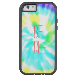 Be Free tie dye watercolor pastels hipster ikat iPhone 6 Case