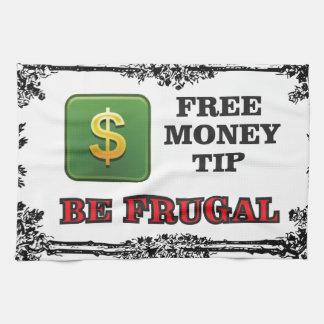 be frugal tip towels