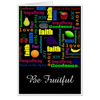 Be Fruitful Card