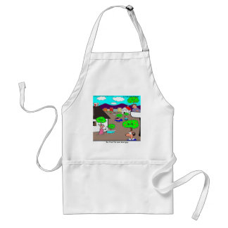 Be Fruitful & Multiply Funny Apron