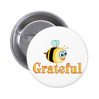 Be Grateful 6 Cm Round Badge