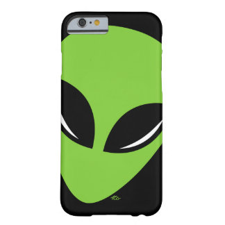 Be Green Alien Barely There iPhone 6 Case