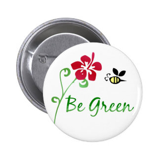 Be Green Button