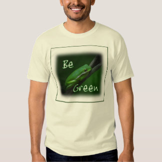 Be Green Frog T-shirt