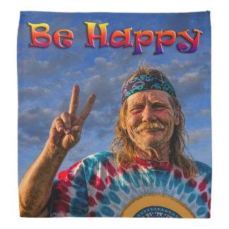 BE HAPPY BANDANA