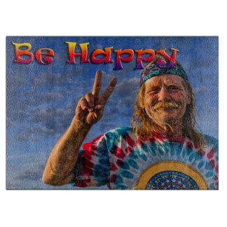 BE HAPPY CUTTING BOARD