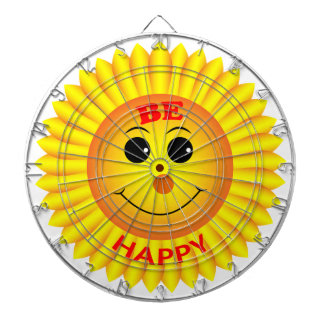 Be Happy Dartboard