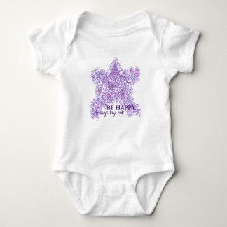 BE Happy Design by MK Babybody Baby Bodysuit