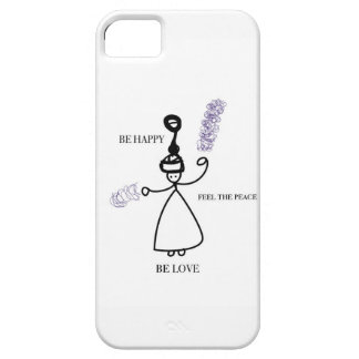 Be Happy Feel peaceful Be Love iPhone 5 Covers