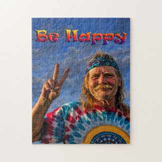 BE HAPPY JIGSAW PUZZLE