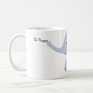 Be Happy Little Elephant Mug
