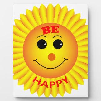 Be Happy Plaque