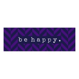 Be Happy Random Acts of Kindness Card Pack Of Skinny Business Cards