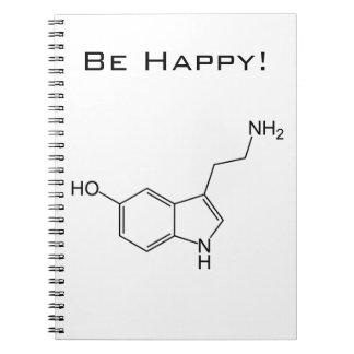 Be Happy! Serotonin Notebook