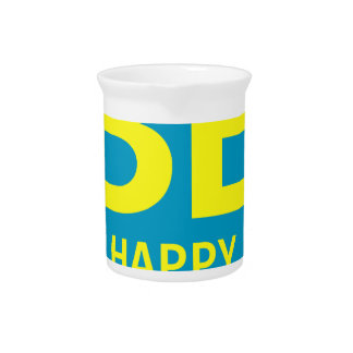 Be happy smile pitcher