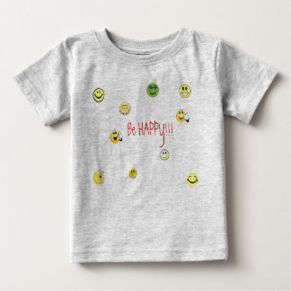 BE HAPPY T-SHIRTS