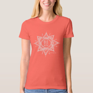 Be Here Now Mandala Organic T-shirt