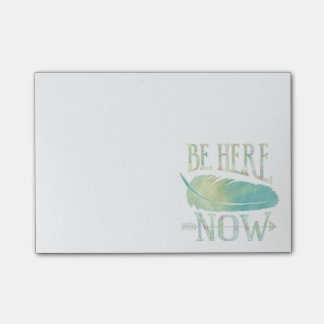 Be Here Now Post-it Notes