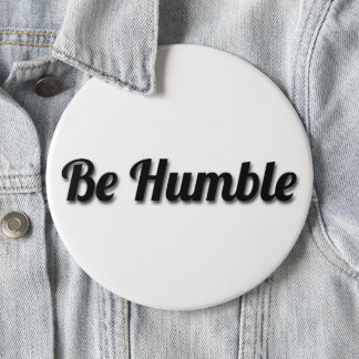 be humble button