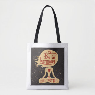 Be In Harmony With Yourself 2 Tote Bag