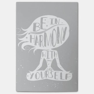 Be In Harmony With Yourself Post-it Notes