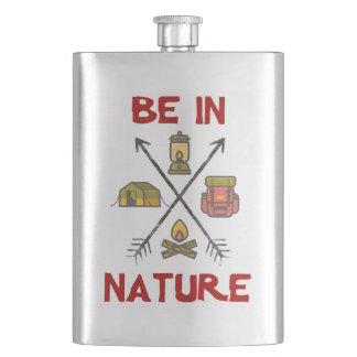 Be In Nature Hip Flask