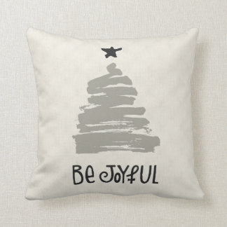 Be Joyful Linen Holiday Pillow