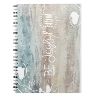 Be joyful note block-system notebook