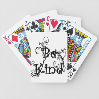 be kind3 bicycle playing cards