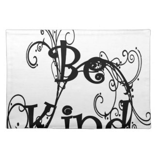 be kind3 placemat