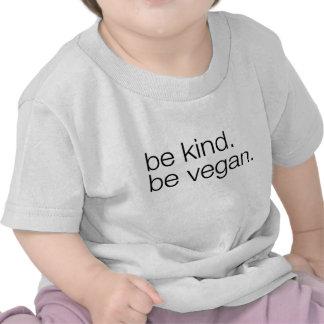 be kind be vegan baby tee