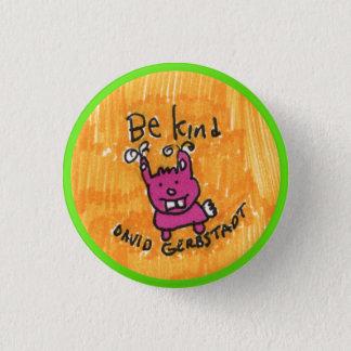 Be Kind bunny 3 Cm Round Badge