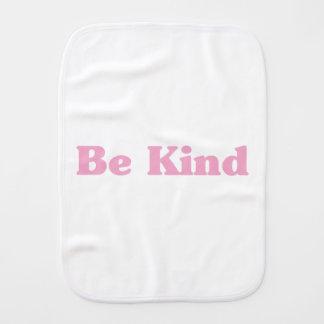 Be Kind Burp Cloth