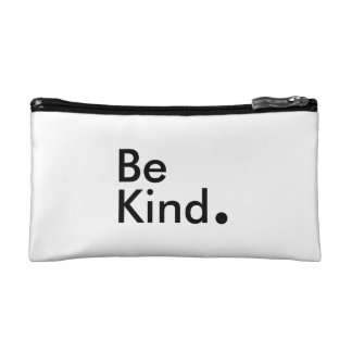 Be Kind. Cosmetic Bag