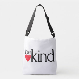 Be kind crossbody bag