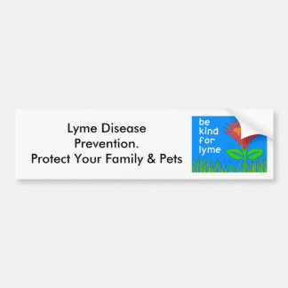 Be Kind for Lyme Bumper Sticker