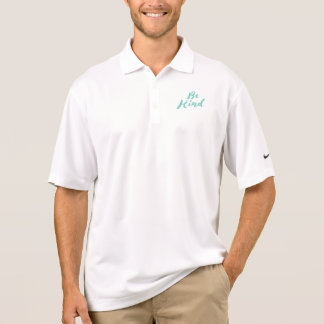 Be Kind - Hand Lettering Design Polo Shirt