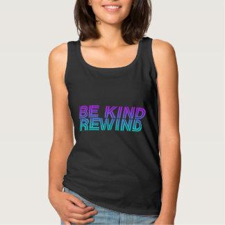 Be kind rewind retro 90s VHS Singlet