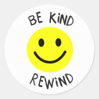 Be Kind Rewind Sticker
