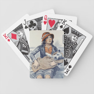 Be Kind to Animals - Vintage Poster Bicycle Playing Cards