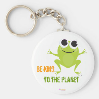 Be kind to the planet - Think Green Keychain