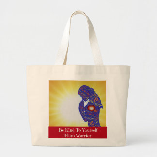 Be Kind To Yourself Fibro Warrior Tote Bag