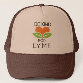 Be Kind Trucker Hat - Lyme Awareness