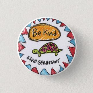Be Kind turtle 3 Cm Round Badge