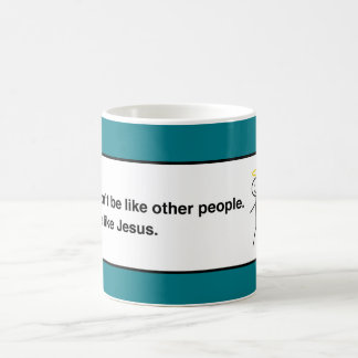 Be Like Jesus, Humorous Social Media Basic White Mug