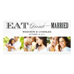 & BE MARRIED | SAVE THE DATE ANNOUNCEMENT PHOTO GREETING CARD