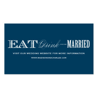 & BE MARRIED | WEDDING WEBSITE CARDS BUSINESS CARD TEMPLATES