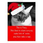 Be Mary Holiday Card