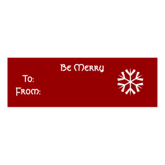 Be Merry - Customized Business Card Templates