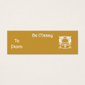 Be Merry Mini Business Card
